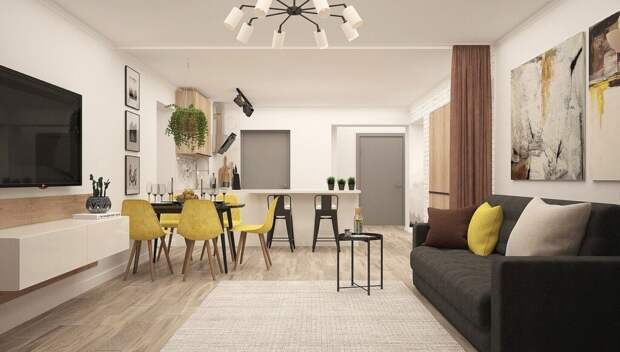 kitchen-living-room-4043091_1280-1024x582 Как разбить однокомнатную квартиру на зоны?