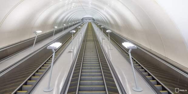 Тоннель для пересадки между двумя станциями метро «Марьина роща» готов на 90% — Бочкарев