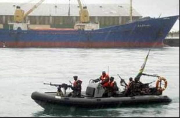 Российские граждане захвачены пиратами