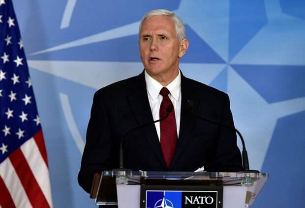 Прямо назвать Пенса человеком Бушей нельзя Фото: REUTERS