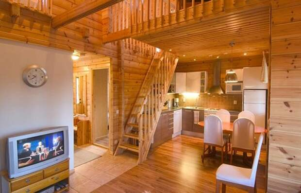второй свет в деревянном доме