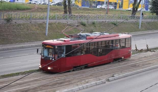 Указанского трамвая отказали тормоза