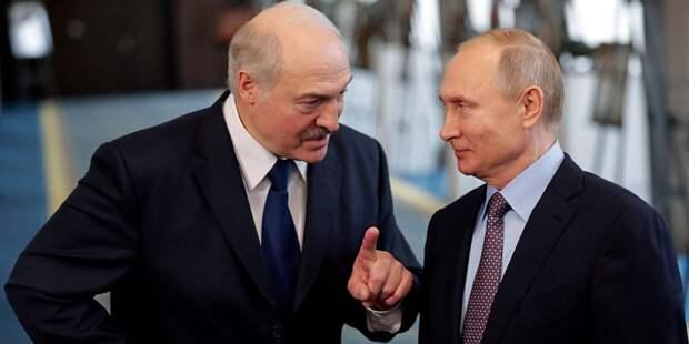 Путин с Лукашенко обсудили российскую нефть