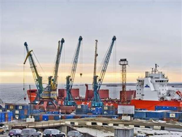 порт Дудинка