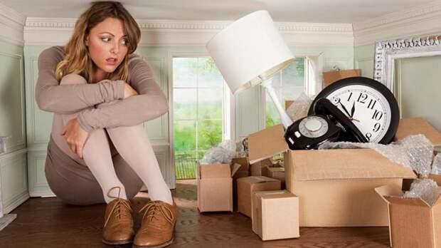 Как сделать 5 шагов для избавления от лишних вещей в гостиной