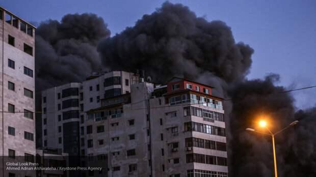 Минздрав Палестины назвал количество погибших при авиаударах в секторе Газа