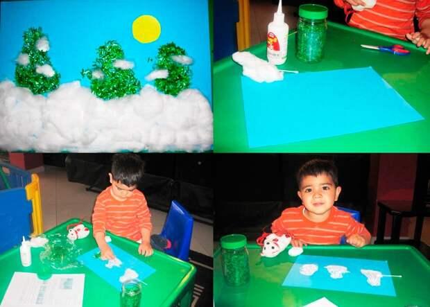 Зимние поделки для детей