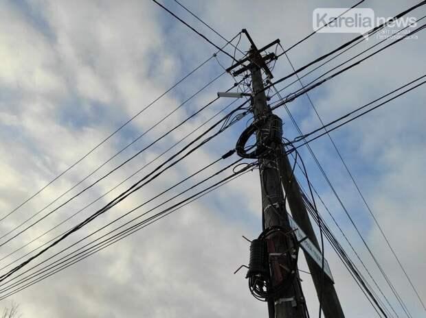 Жителей Карелии предупреждают об отключении электричества