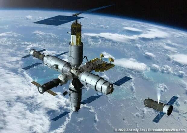 Россия строит не просто очередную космическую станцию, а первую в мире космическую верфь…