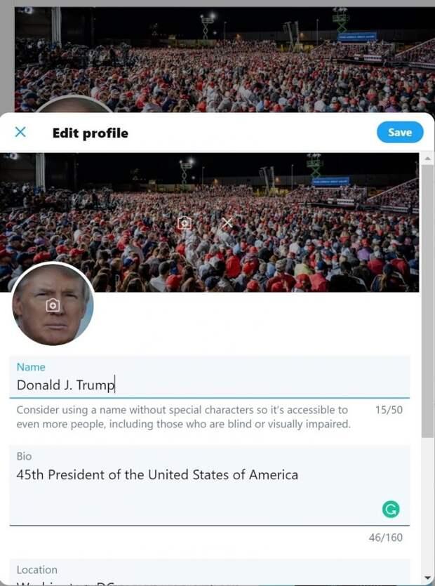Хакер угадал пароль к твиттеру Трампа. Он очень простой и забавный
