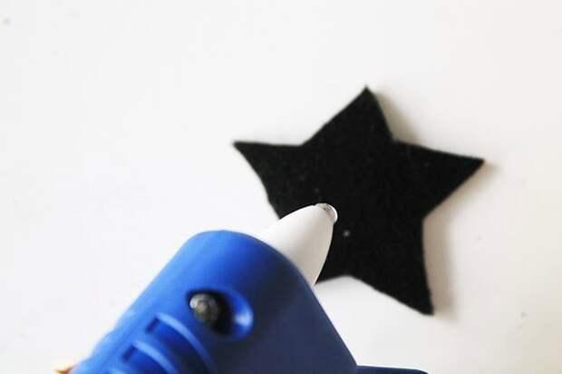 Эспадрильи - звездный декор (Diy)