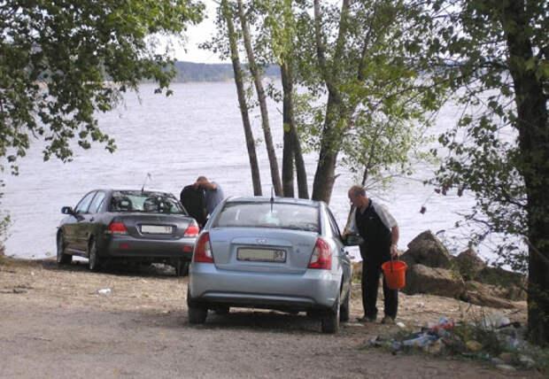 Отдых у реки — где нужно припарковать автомобиль, чтобы не получить штраф