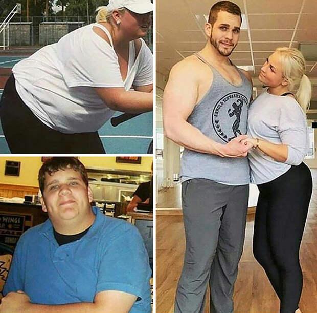 Такие примеры не могут не вдохновлять! диета, лишний вес, похудение