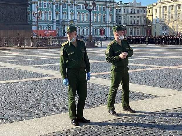 В Петербурге для проведения парада Победы перекроют центральные улицы