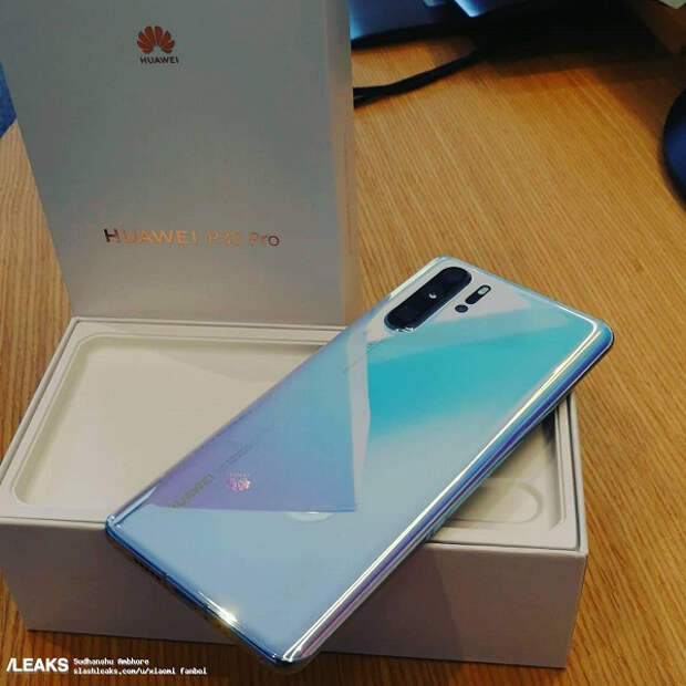 Фото и видео дня: смартфон Huawei P30 Pro вместе с упаковкой