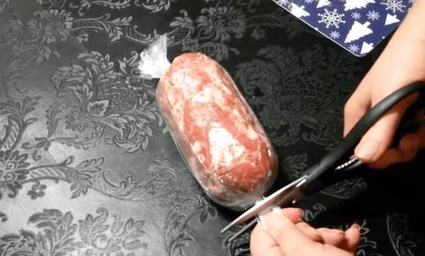 Ароматная и настоящая домашняя колбаса: всегда сытно и вкусно
