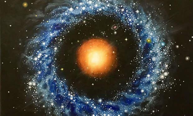 Объект Хога: ученые не могут объяснить, как появилась галактика странной формы