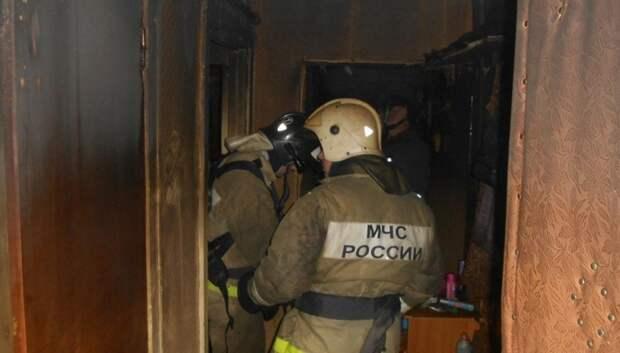 В Подольске потушили возгорание в квартире до приезда огнеборцев