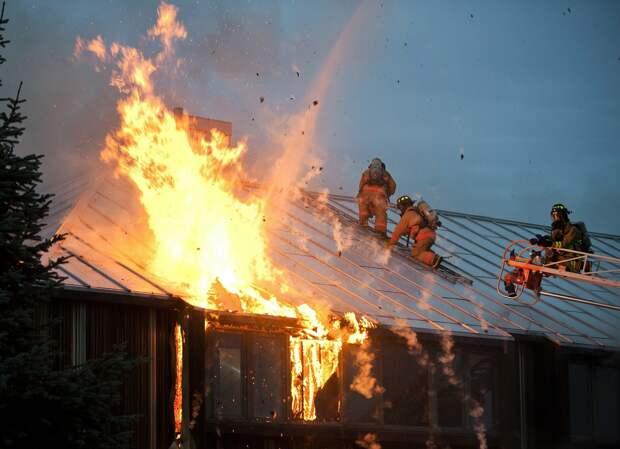 Мужчина погиб при пожаре в Сарапуле