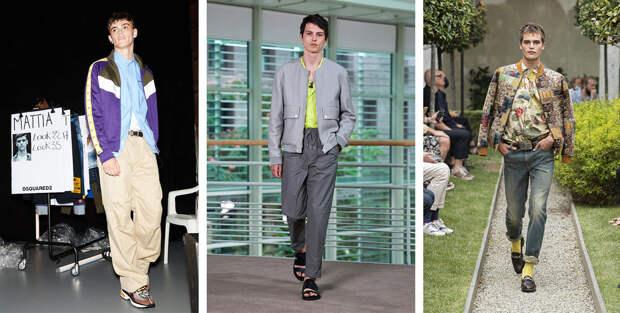 Тренды мужской моды весна-лето 2021, часть 1