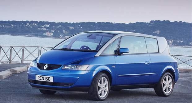 Renault Avantime — единственный в своём роде