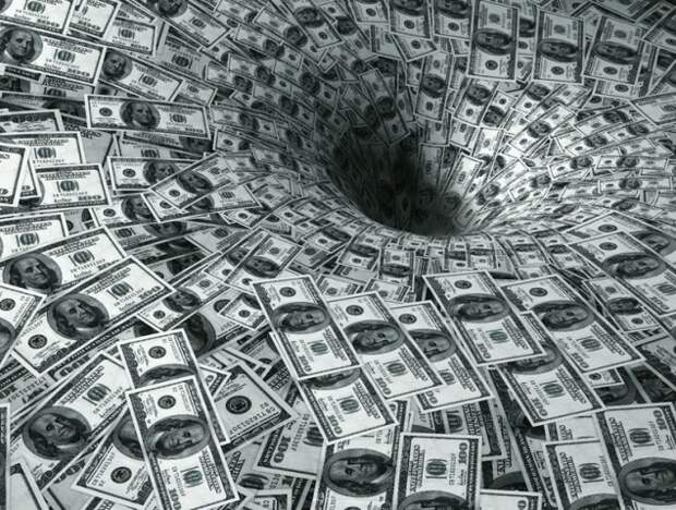 Госдолг США уже почти равен всему американскому ВВП