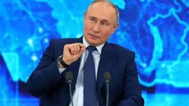Путин считает, что нельзя вводить обязательную вакцинацию
