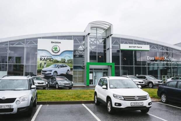 Группа компаний WAGNER объединила свои петербургские автосалоны под одним брендом