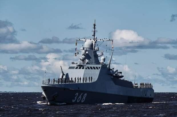 Патрульный корабль Черноморского флота РФ направляется в Средиземное море
