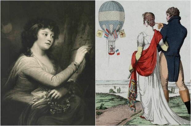 Полёты на воздушном шаре: опасное развлечение первых женщин-аэронавтов