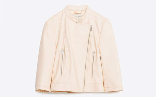 модная куртка косуха zara