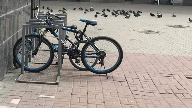 Полицейские в Липецке разыскивают похитителя велосипеда