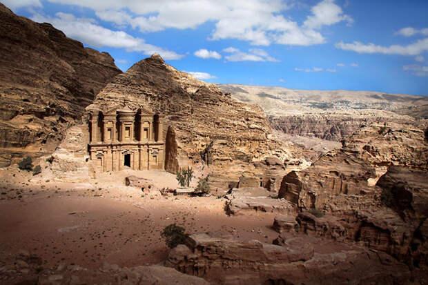 Монастырь Ад-Дейр. Петра, Иордания красота, путешествия, фото