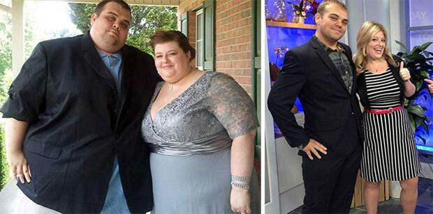 Только вместе: влюбленные пары, которые сумели сбросить лишний вес