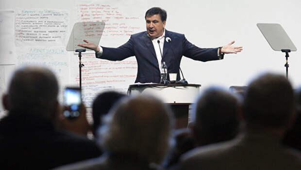 Конфуз Саакашвили на Европейском конгрессе не остался незамеченным