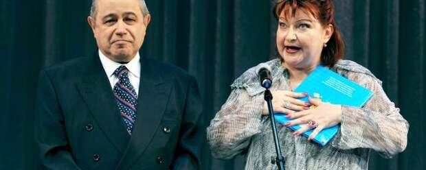 Евгений Петросян и Елена Степаненко устали от борьбы за имущество