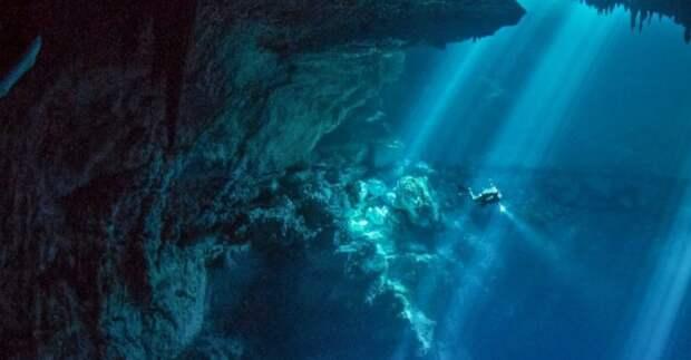 Крупнейший портал в иной мир обнаружен в подводных пещерах древних ацтеков