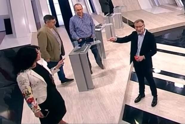 Михеев выгнал из студии украинскую пропагандистку за хамство