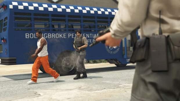 THE PRISON BREAK