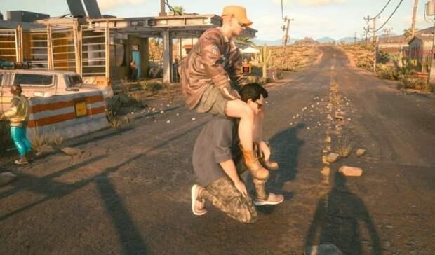 Утекшее видео ранней версии Cyberpunk 2077 довело геймеров до истерики