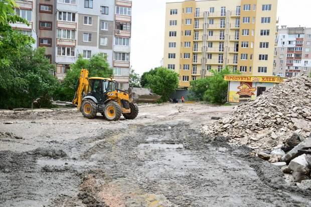 Симферопольские дворы благоустроили на 45-55%