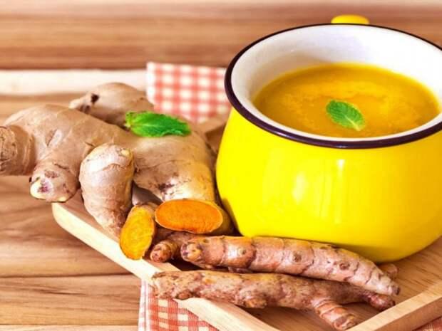 Куркумин увеличивает биодоступность зеленого чая - употребляйте их вместе