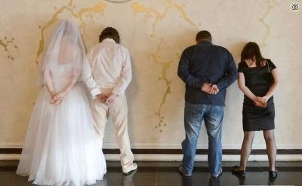 Прикольные свадебные торжества 29