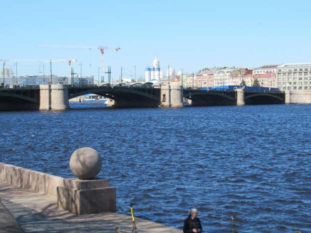 Фоторепортаж из сегодняшнего весеннего Петербурга