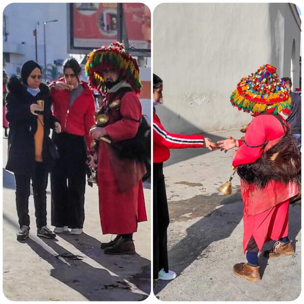 Люди на улицах Марокко: шлёпки зимой, чёрные мешки, незаконная торговля и охота на туристов.