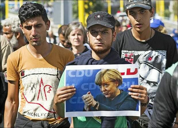 Россия виновата в том, что Европа заполнена мигрантами