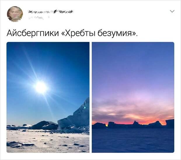 Вот такое оно, антарктическое лето