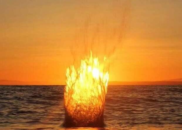 Огненные «Болиды Нага», вылетают из реки Меконг каждый год в течение осени