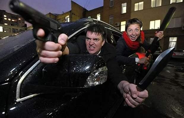Какие средства самообороны можно законно держать в машине