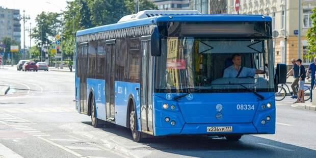 В Южном Медведкове объединили маршруты автобусов №31 и 353